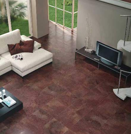 Pavimento rustico interior perfect gres ceramico comun for Suelo rustico interior