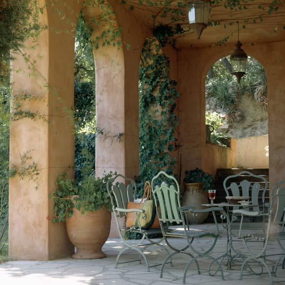 muebles de exterior jard n porche o terraza foto