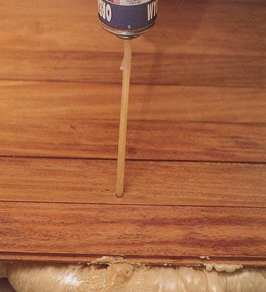 Dos soluciones para que tu suelo de madera deje de crujir