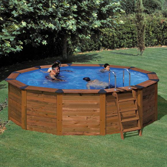 Piscinas elevadas de obra cool piscina de acero with - Piscinas sin obra ...
