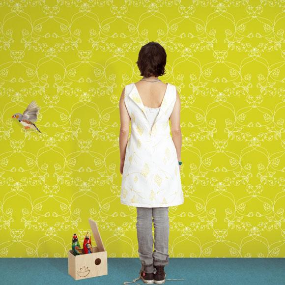 Papeles pintados el retorno de un cl sico foto - Papeles pintados tres tintas ...