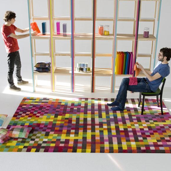 Alfombras el triunfo de la geometr a 1 parte foto 3 - Nani marquina alfombras ...