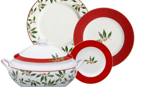 Vajillas mesas a punto para esta navidad for Vajillas para navidad