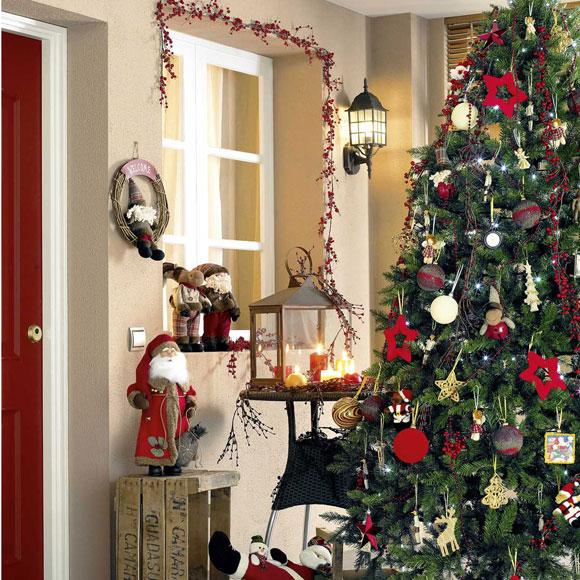 C mo adornar el rbol de navidad - Adornar la casa en navidad ...