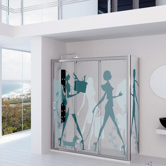 Baño Imagen Mamparas:Así son las nuevas mamparas de baño