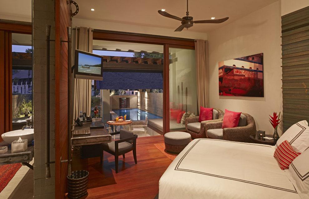 Hoteles de ensue o el dise o de la perla del ndico for Muebles de tailandia