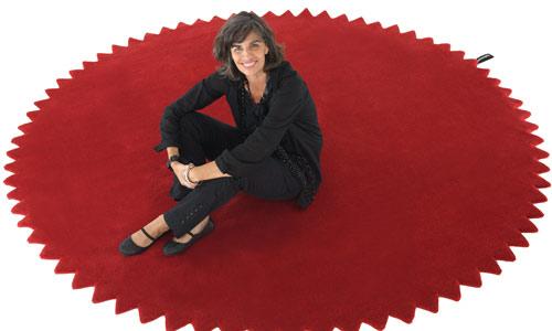 """Nani Marquina: """"Las alfombras transmiten la historia de los lugares de donde provienen"""""""