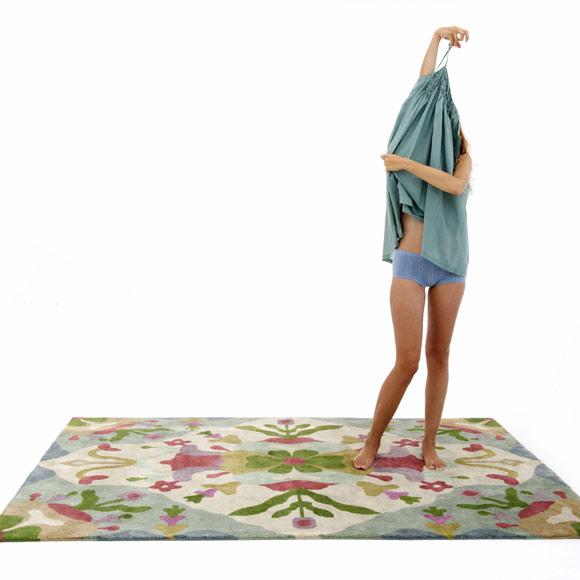 """Nani Marquina: """"Las alfombras transmiten la historia de ..."""