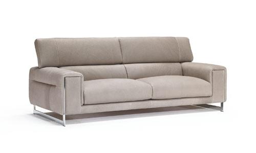 Tapizados en piel elegantes y refinados for Natuzzi muebles