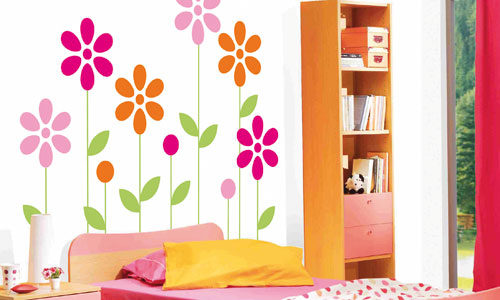 Personaliza tus paredes con vinilos for Pegatinas pared dormitorio