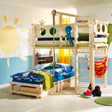 Camas infantiles que combinan diversión y descanso