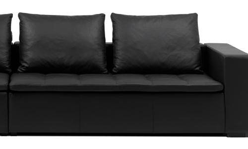 El negro también es elegante en casa