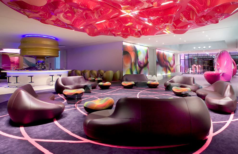 Nhow berl n un hotel poco convencional for Top design hotels deutschland