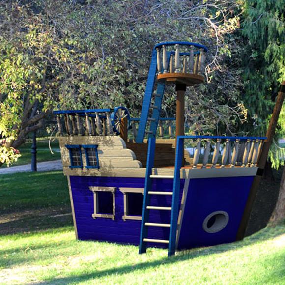 As es la casa de sus sue os foto 2 for Casas de jardin infantiles