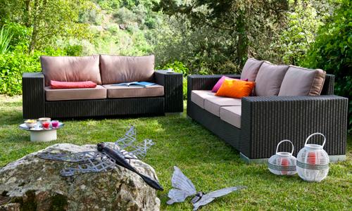 conforama y casa viva ofrecen mobiliario de jardn a precios muy