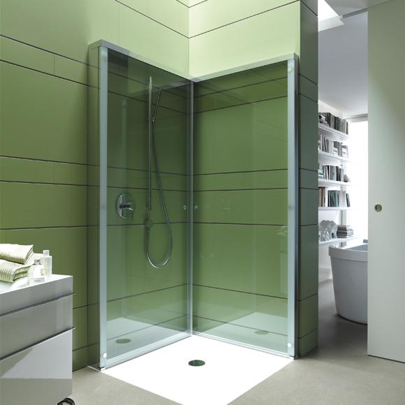 Optimal Usage Of Space And Items For Small Bathroom Ideas: Duchas Que Simplifican La Vida