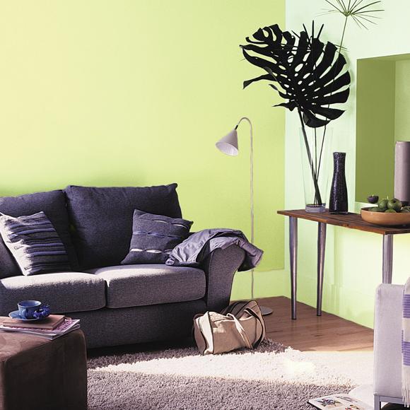Pinta tus paredes con los colores del verano foto 1 for Gama de colores verdes para pintar paredes