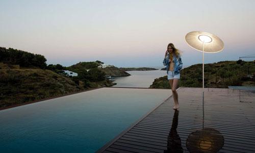 lamparas para terrazas
