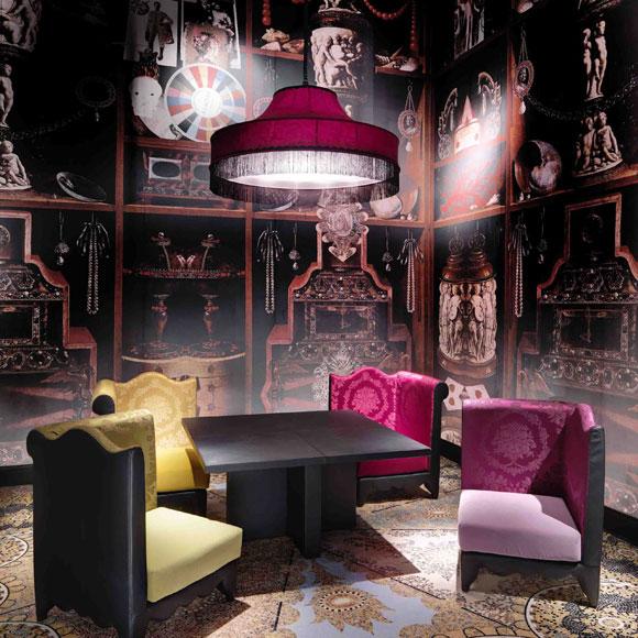 Christian Lacroix se rinde al mobiliario