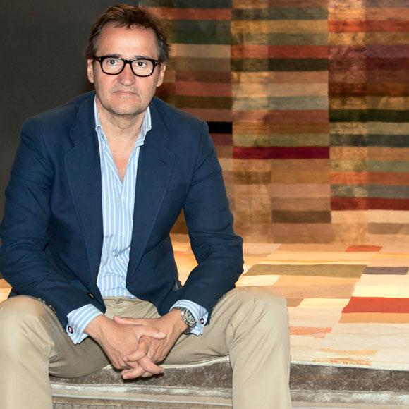 Ignacio Curt, un especialista en alfombras