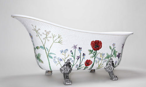 Bañera de las diseñadoras suecas Emilie Solklippa y Hanna Skogh