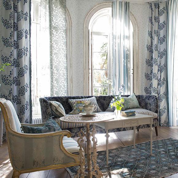 D jate seducir por los tejidos brit nicos foto - Maison decor papeles pintados ...