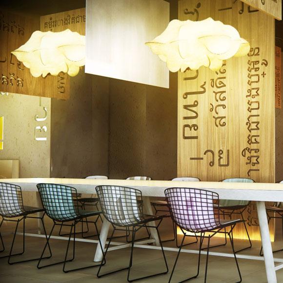 La decoraci n informal se convierte en tendencia - Decoracion de bares y restaurantes ...