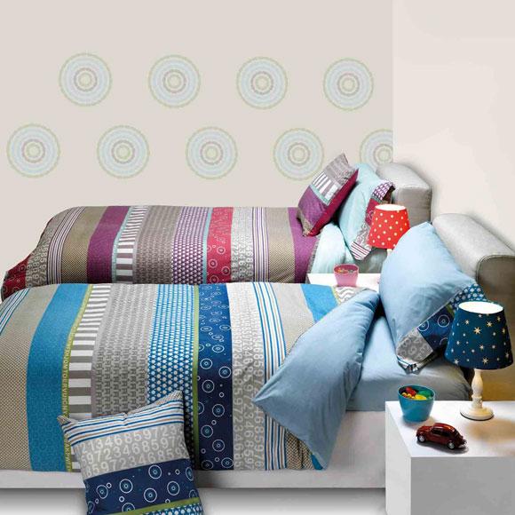 Ropa de cama juvenil: diversión y buen gusto