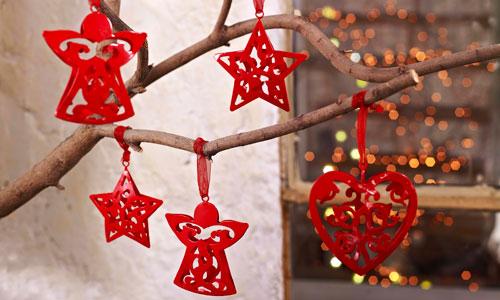 Adornos elegantes para una navidad sofisticada - Adornos para el arbol de navidad ...