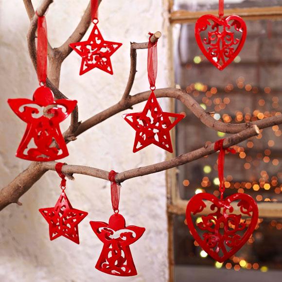Adornos elegantes para una navidad sofisticada foto 2 for Decoraciones de navidad para hacer en casa