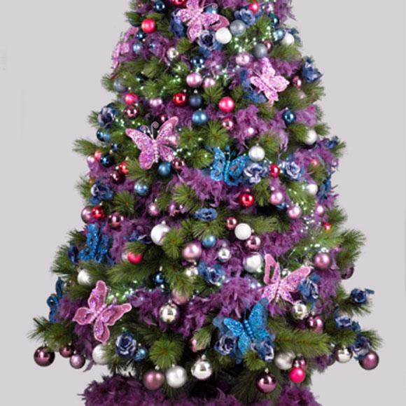 Te damos ideas para decorar tu rbol de navidad foto - Arboles de navidad elegantes ...