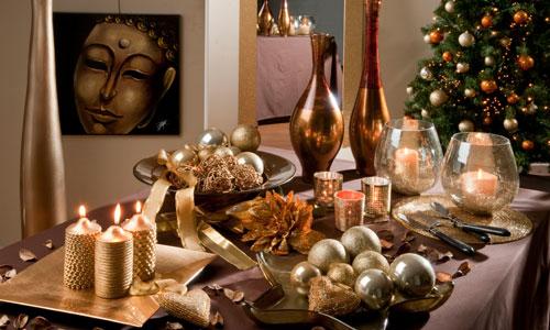 El arte de poner la mesa en navidad - Mesa de navidad elegante ...
