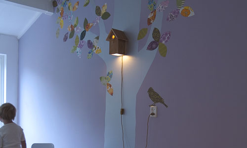 Luz que decora y protege el planeta