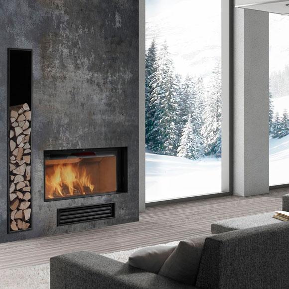 Electrical Home Design Ideas: Chimeneas: Calor Y Diseño En Tu Hogar