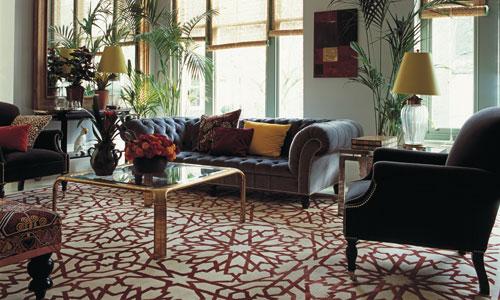 Alfombras: diseños espectaculares y materiales de auténtico lujo