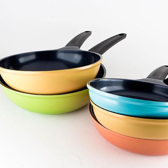 Sartenes y cacerolas: color y calidad en tu cocina