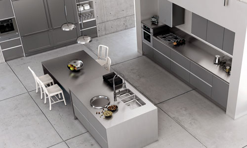 Cocinas de ensue o for Cocinas espanolas modernas