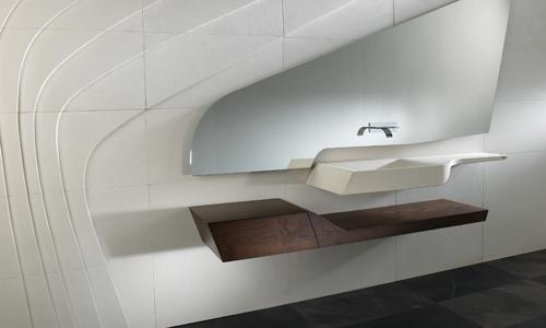 Baños modernos lavamanos ~ dikidu.com