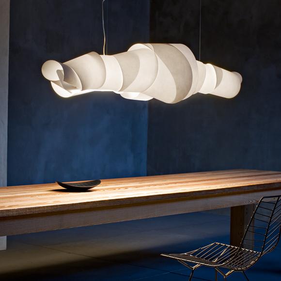 Para el comedor, lámparas de suspensión