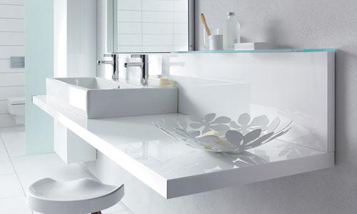 Cuarto de baño con dos lavabos: instalaciones « casa rural las ...
