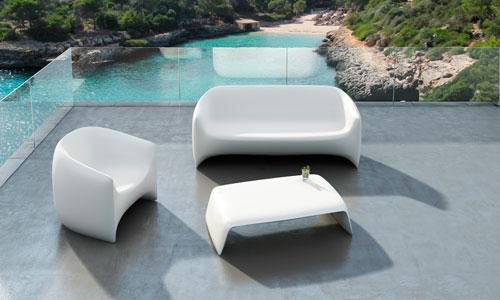 Salon De Jardin Modern Plastic ~  forma de L (PULSA EN LA IMAGEN PARA ACCEDER A LA GALERÍA DE FOTOS