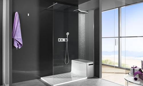 Así son los platos de ducha más modernos