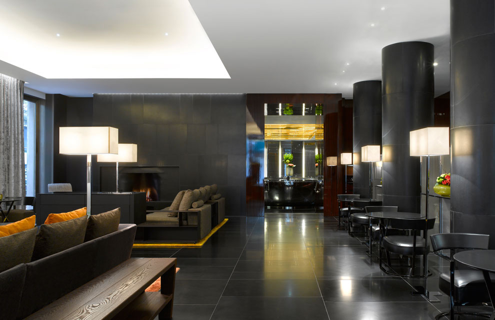 El hotel bulgari de londres un tributo decorativo a la for Hotel design genes