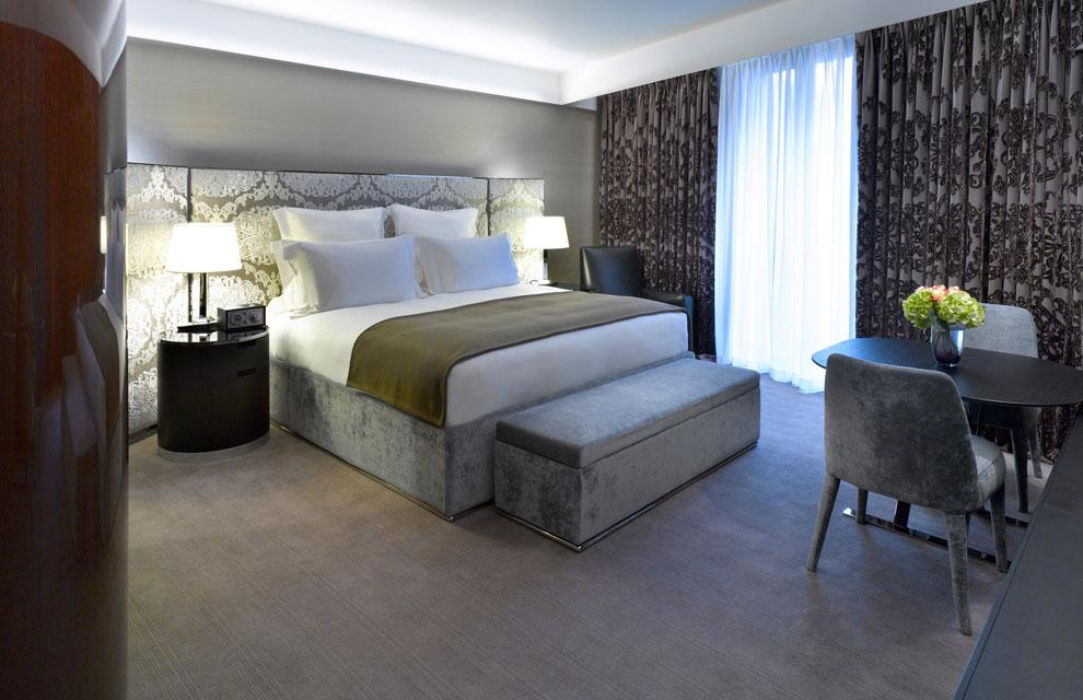El hotel bulgari de londres un tributo decorativo a la Detalles en habitaciones de hotel