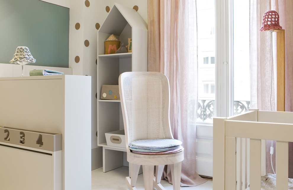 Casa decor barcelona abre sus puertas pasen y vean for Iluminacion habitacion bebe