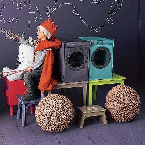 ¿Un buen regalo para los niños? Contenedores de juguetes y ropa