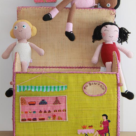 Un buen regalo para los ni os contenedores de juguetes y ropa foto - Baules para guardar ropa ...