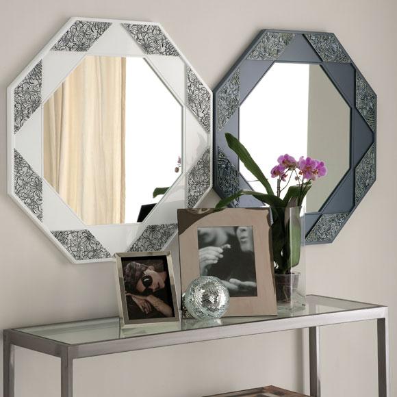 Espejo espejito dime c mo adornar mis paredes foto - Formas de espejos ...