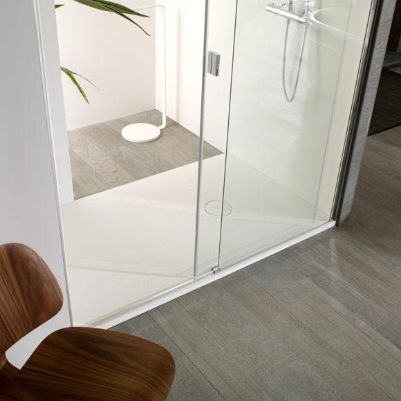 Baño Pequeno Mampara:Así son las nuevas mamparas: minimalistas, robustas y seguras