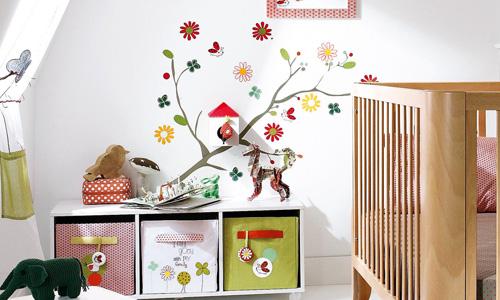 Buenas ideas para las paredes infantiles - Habitaciones infantiles decoracion paredes ...